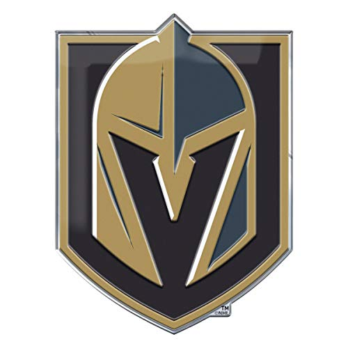 FANMATS ProMark NHL Vegas Golden Knights Auto Emblem Color, Team Color, One Size