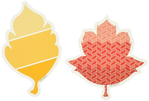 Creative Teaching Press Painted Palette Fall Leaves Cut Outs, 3 in (8078)