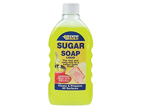 Everbuild Sugar Soap Liquid 500 ml EVBSOAPLIQ