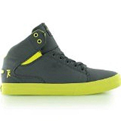 Supra Society Mid S46033 Herren Sneaker grau combo