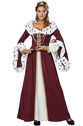 Esther Halloween Costume (California Costumes Women's Royal Storybook Queen Costume, multi,)