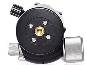 Desmond DLOW-55 55mm Low Profile Ball Head Arca/RRS Compatible w Pan Lock for Tripod