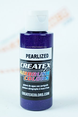 Airbrush Colors Createx Pearlized 5314 Pearl Plum 2oz. Paint. by SprayGunner