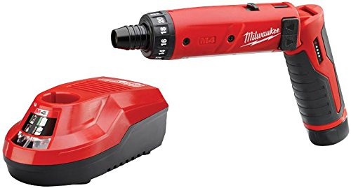 New Milwaukee 2101-21 M4 4 Volt Cordless 2 Speed Screwdriver Drill Kit ()