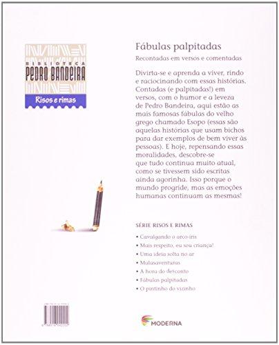 Livro: Fábulas Palpitadas. Recontadas em Versos e Comentadas 2