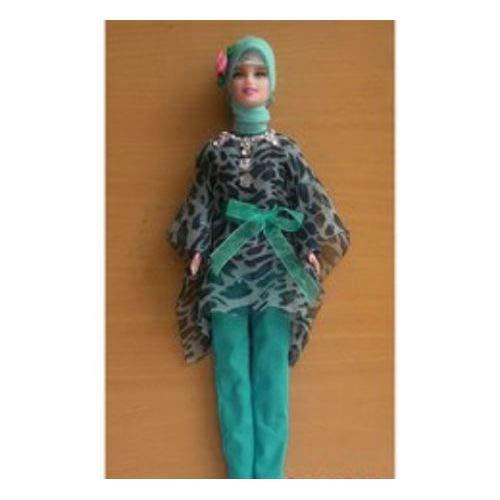 Muslim Doll With Handmade Clothes Hijabi Doll Girls Eid Gift