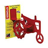 Stokes Select Tractor Cob Squirrel Feeder, Red, 2 Corn Cob Capacity