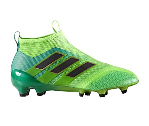 Bota de fútbol adidas jr Ace 17+ Purecontrol FG Solar green-Core black-Core green Solar green-Core black-Core green