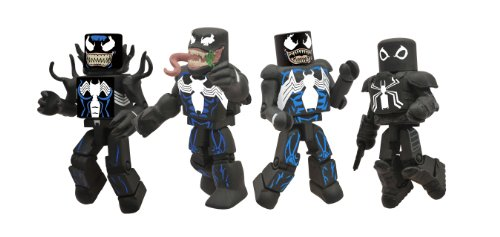 Diamond Select Toys Marvel Minimates: Venom Through the Ages Box Set ()