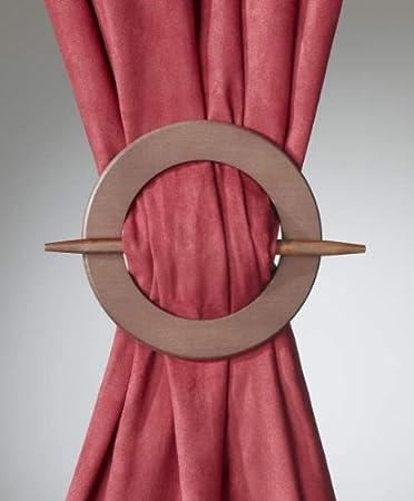 Breite kreisförmige Dekospange aus Holz. Die ideale ...