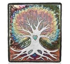 Raku Wall Art Tree of Life ()