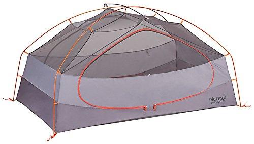 Marmot Unisex Limelight 2P Tent, Cinder/Rusted Orange - One Size by Marmot (Image #5)