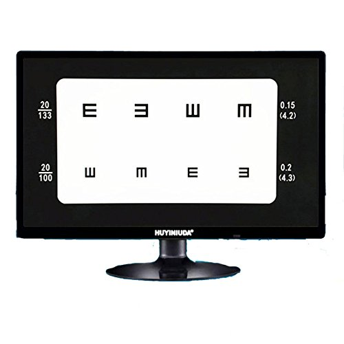 Huanyu 215 Inch Lcd Optical Digital Visual Acuity Chart Eye Charts