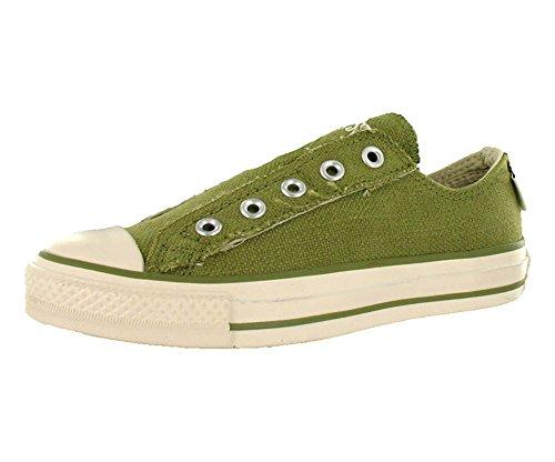 03457c1fc479ea Converse Men s All Star Chuck Taylor Hemp Slip On Casual Shoe Olive (10)