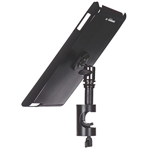 On Stage TCM9161 Quick Release Tablet Mount with Snap-On Cover for iPad 2/3/4, Black (Ipad On Stage)