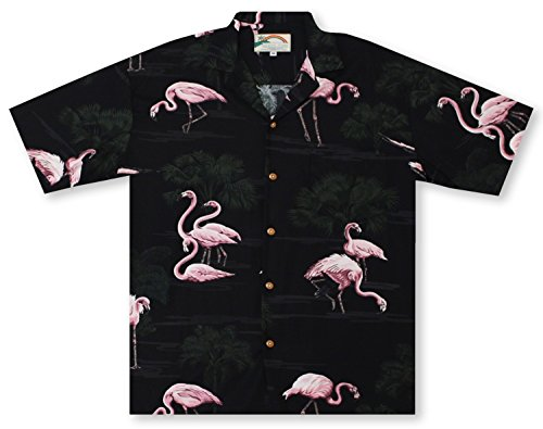 Island Paradise Hawaiian Shirt (Paradise Found Flamingos Hawaiian Shirt)