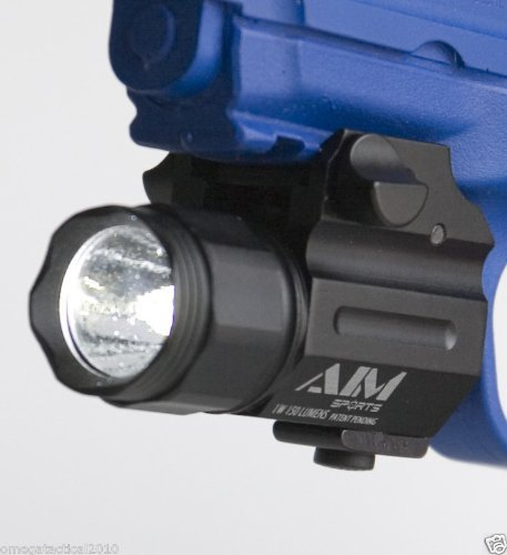 AIM Sports FQ150 150 Lumen Tactical Quick Release Pistol Light