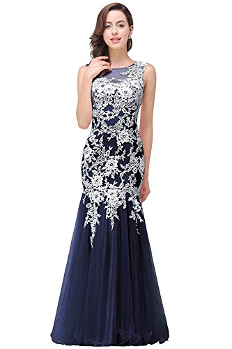 86c14112f1c3d Babyonline Pink Lace Mermaid Evening Gowns Sheer Backless Long Formal Dress
