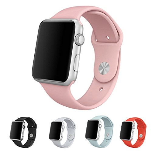 Forepin-Soft-Adjustable-TPU-Silicone-Apple-Watch-Band-With-Pin-and-Tuck-Closure-iWatch-Replacement-Wristbands-Rubber-Wrist-Strap-Bracelet-For-Apple-Watch-Sports-Edition
