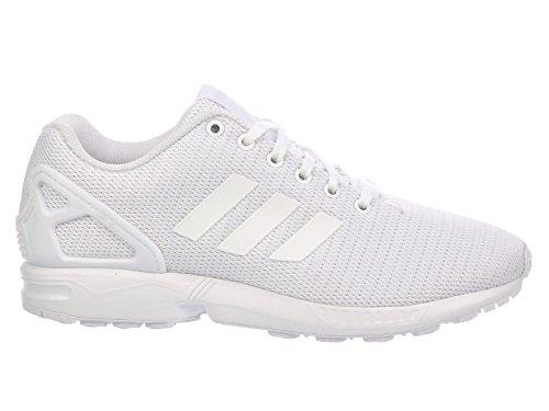 adidas Originals Men's ZX Flux Fashion Sneaker White/Light Grey, 8 M US ()