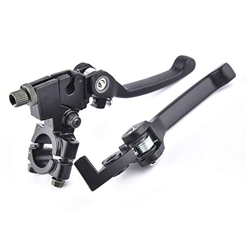 (Folding Clutch Lever with Perch + Brake Lever for 110 125cc 7/8