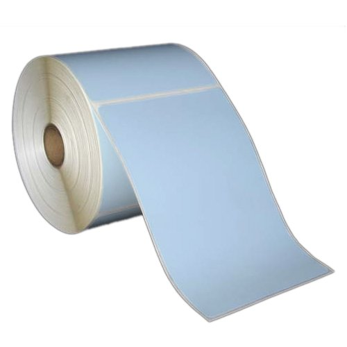 4x6 Inch Direct Thermal Paper Labels - Blue - Rolls - 5 inch OD - 1 inch Core - 1 Box - For Zebra, Intermec, Datamax, Sato and Other Thermal Barcode Label Printers (L-SDF-40601P51B)