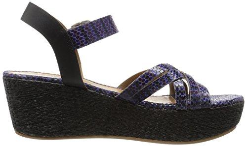 Valencia Platform Blue Sandal Women's Callisto xnwqvB