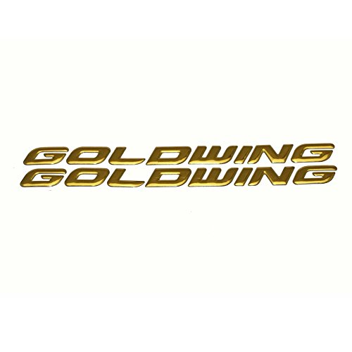 Gl1800 Goldwing (PRO-KODASKIN Motorcycle 3D Raise Emblem Stickers Decal for Honda GL1800 GOLDWING)
