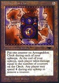 Magic: the Gathering - Armageddon Clock - Antiquities