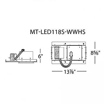 WAC Lighting LEDme Multiple Spot Invisible Trim