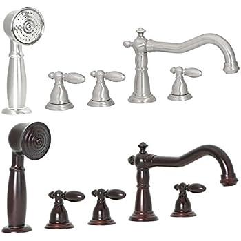 Freuer Bellissimo Collection Handshower Roman Tub Faucet