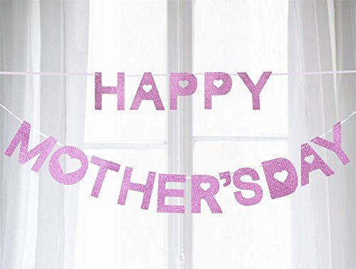 jollylife Happy Mother's Day Banner Decorations - Garland
