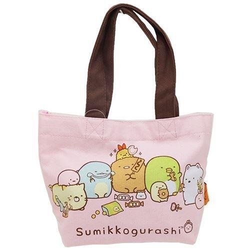 K Company San-X Sumikko Gurashi Borsa da Tote miniera Rosa CMT2-SG-PK