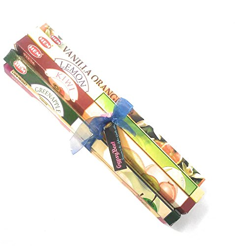 Tropical Incense (GypsyBeat Fruit Flavors Incense Variety Gift Pack Selections)