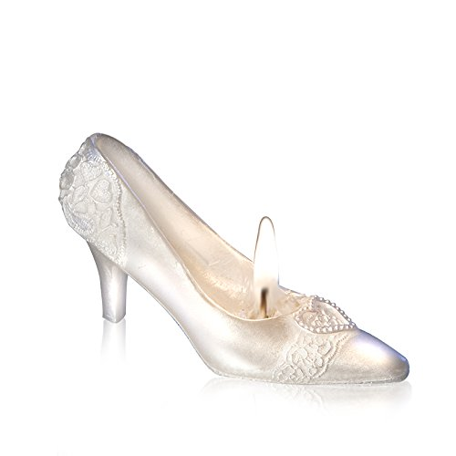 Exquisite Crystal Shoe Candle Propose Dinner Decoration Cake Topper With Gift Box and Greeting Card from Sweet Homes & Gardens