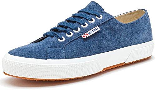 Superga 2750-Damen Sneakers Blu Blue Night Shadow