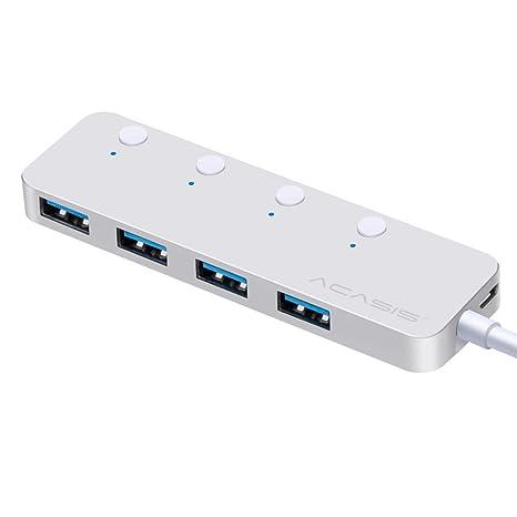 Usb3.0 Hub 4 Puertos Usb3.0 Hub con Switch USB Hub Usb3.0 ...
