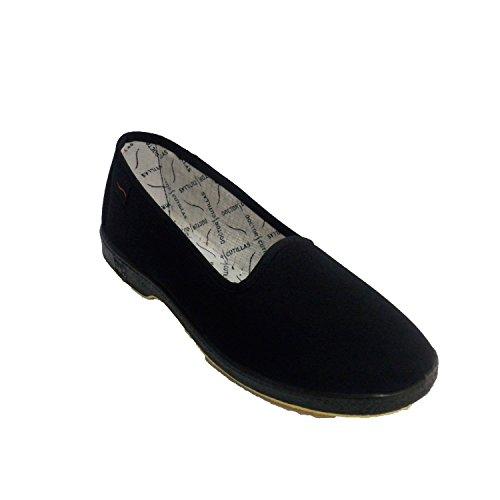 Cutillas Personnes Femme Doctor Plates Noir âgées en Chaussures spéciale aUdwXwqH