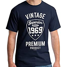 50th Birthday Gifts Men Vintage Premium 1970 T-Shirt for Men