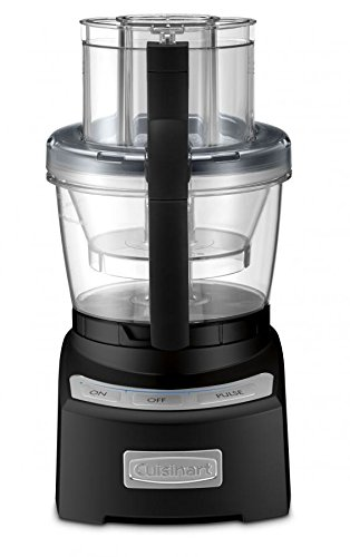 Cuisinart FP-12BKN Elite Collection 2.0 12 Cup Food Processor, Black