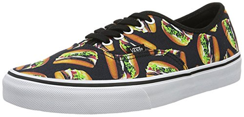 Vans Late Authentic Hamburgers Night Black rq0rpPTxw
