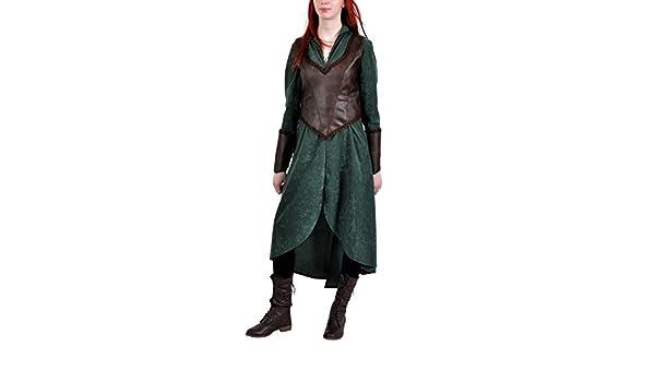 Hobbit - Disfraz del elfo de la selva Tauriel para mujer - Vestido ...