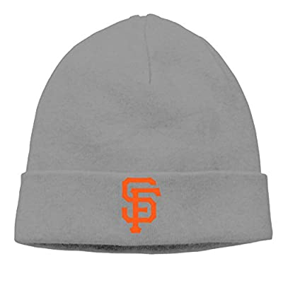 EWIED Men's&Women's San Francisco SF Giants Patch Beanie CampingDeepHeather Hats For Autumn And Winter