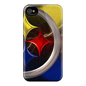 Shock Absorbent Hard Phone Cases For Iphone 6 With Unique Design HD Pittsburgh Steelers Skin JasonPelletier hjbrhga1544
