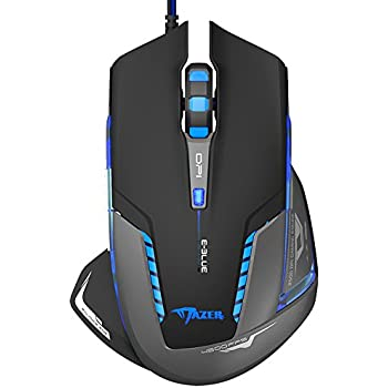 E-3lue E-Blue Mazer II EMS600 2500 DPI Blue LED Trendy Optical USB Wired Gaming Mouse