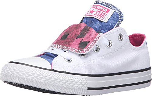 57dbf7375dcc82 Converse Chuck Taylor All Star Double Tongue Girls Shoes Size ...