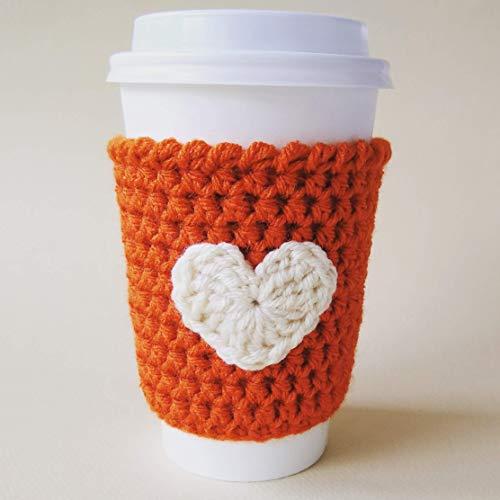 Pumpkin Spice and Cream Coffee Sleeve