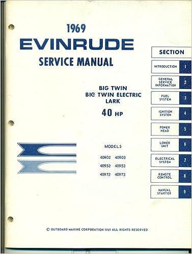 evinrude selectric manual