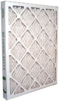 (20x24x1 Dust & Pollen Pleated Filter MERV 8 (12 Pack) by Glasfloss)
