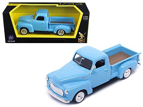 Road Signature 94255-L.BL 1950 GMC Pickup Truck Light Blue 1/43 Diecast Model Car